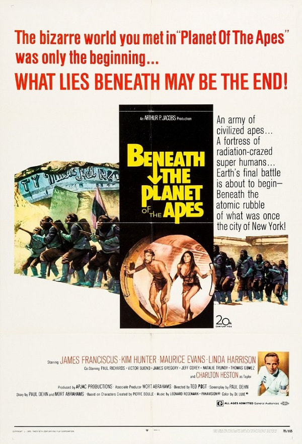 Beneath-The-Planet-of-the-Apes-movie-1970-poster