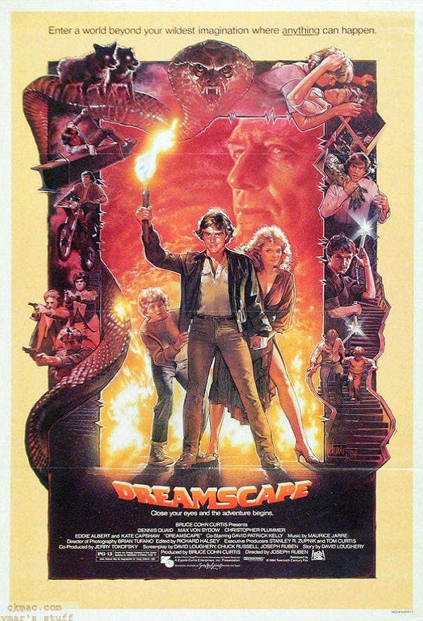 Dreamscape-movie-1984-poster