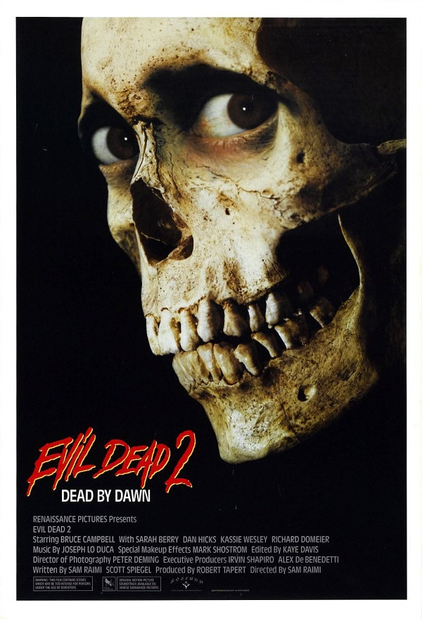 Evil-Dead-II-Dead-By-Dawn-movie-1987-poster
