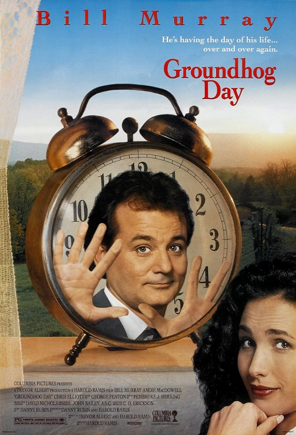 Groundhog Day-movie-1993-poster